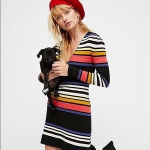 Free People Gidget sweater dress 🍁